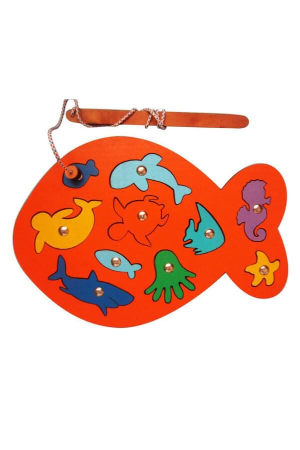 Обложка Игра с магнитами «Рыбалка»