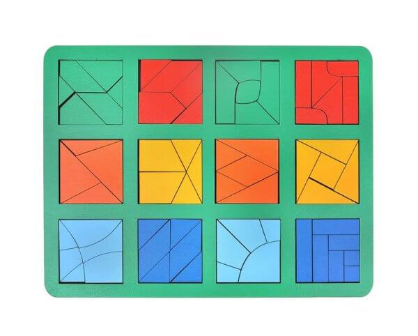 Обложка Сложи квадрат Б.П.Никитин 3 уровень (макси)