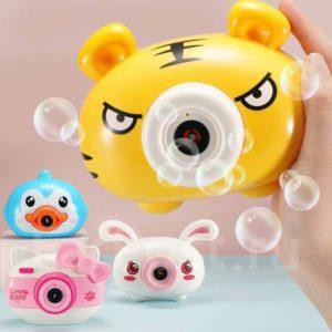 """Обложка Bubble camera для создания мыльных пузырей """"Тигр"""""""