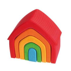 обложка Дом-Пирамида разноцветный (Grimms)