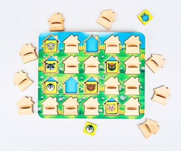 Обложка Мемо домики