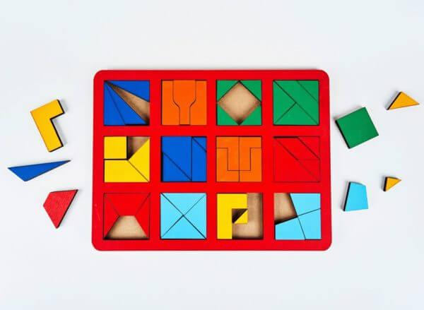 Обложка Сложи квадрат