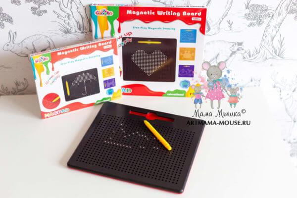 обложка Планшет для рисования магнитами Magpad (713 ячеек)