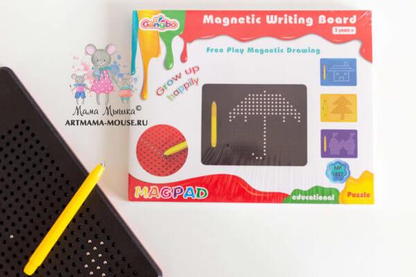 обложка Планшет для рисования магнитами Magpad (380 ячеек)