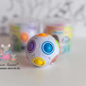 Обложка Головоломка разноцветный шар Орбо