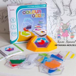 """обложка Обучающая игра """"Цветовой код"""""""