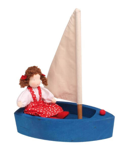 j,kj;rf Лодка синяя большая Grimms