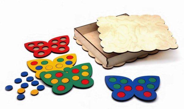 Обложка Мозаика Бабочки