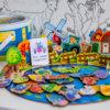"""Обложка Деревянный 3D пазл-игра с магнитной рыбалкой """"Ферма"""""""