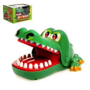 Обложка Настольная игра на реакцию «Безумный крокодил»