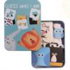 Обложка Развивающая игра-пазл SHAPES PUZZLE Животные Серия Угадай Кто Я